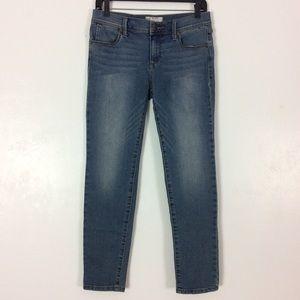 FP Free People Skinny Ankle Jeans Slim Fit Stretch